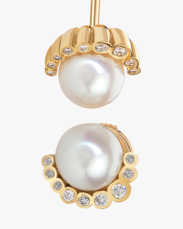 Flora Bhattachary Aditi Pearl Earrings 2