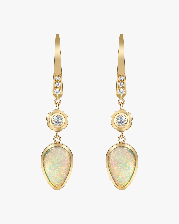 Flora Bhattachary Mor Ashru Opal Earrings 1