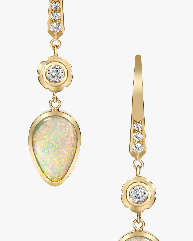 Flora Bhattachary Mor Ashru Opal Earrings 2