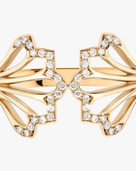 Flora Bhattachary Mor Five Feather Ring 2