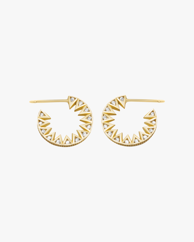 Flora Bhattachary Taxila Hoop Earrings 1