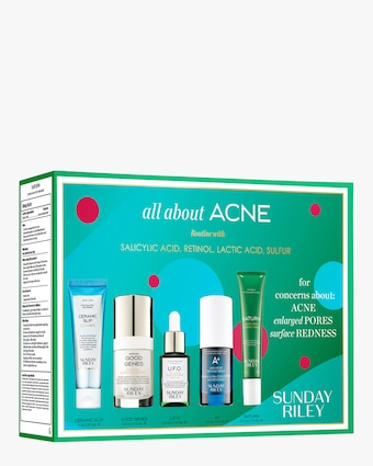Sunday Riley All About Acne Kit 2