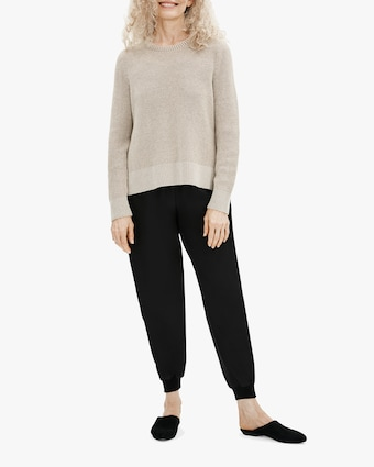 Eileen Fisher Slouch Ankle Pants 1