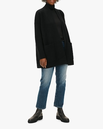 Eileen Fisher Boxy Cashmere Cardigan 1