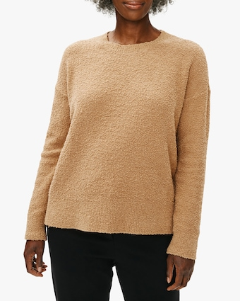 Eileen Fisher Boxy Crewneck Top 2
