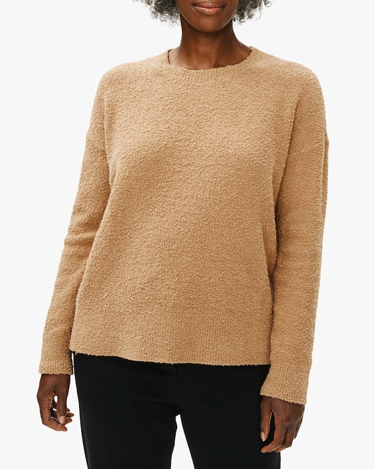 Eileen Fisher Boxy Crewneck Top 1