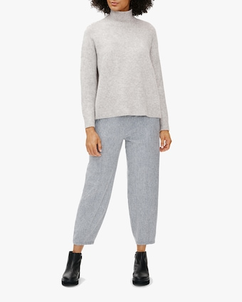 Eileen Fisher Boxy Turtleneck Top 2