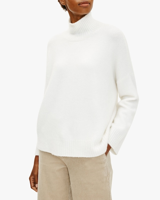 Eileen Fisher Boxy Turtleneck Top 1