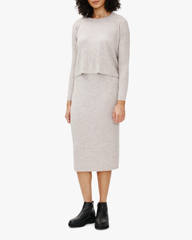 Eileen Fisher Wool Pencil Skirt 1