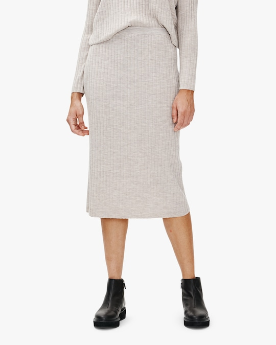Eileen Fisher Wool Pencil Skirt 0