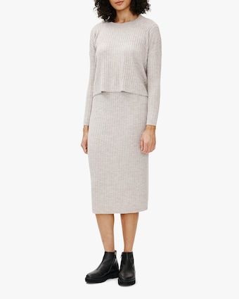 Eileen Fisher Wool Pencil Skirt 2