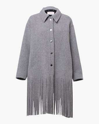 Dorothee Schumacher All About Fringe Coat 1