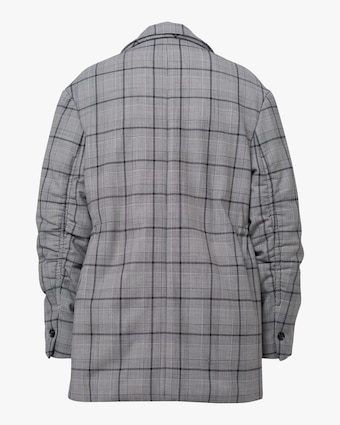 Dorothee Schumacher Checked Motion Quilted Jacket 2