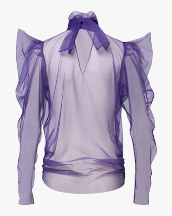 Dorothee Schumacher Dramatic Transparency Blouse 2