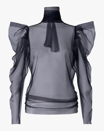 Dorothee Schumacher Dramatic Transparency Blouse 1