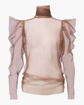 Dramatic Transparency Blouse