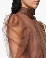 Dorothee Schumacher Dramatic Transparency Blouse 4