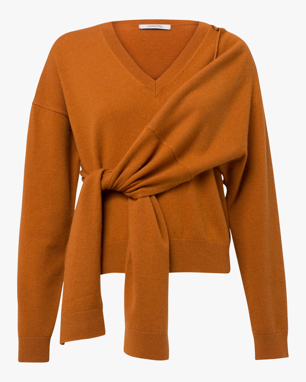 Dorothee Schumacher Deconstructed Gathered-Waist Sweater 1