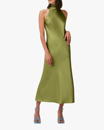 Galvan Cropped Sienna Dress 1