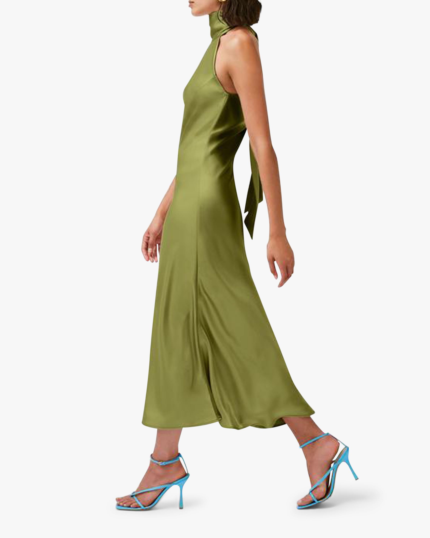 Galvan Cropped Sienna Dress 1