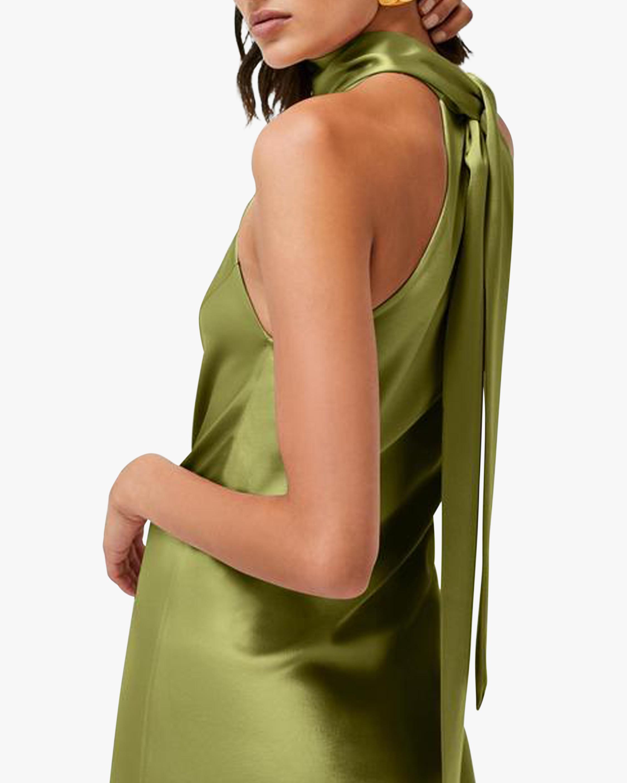Galvan Cropped Sienna Dress 4