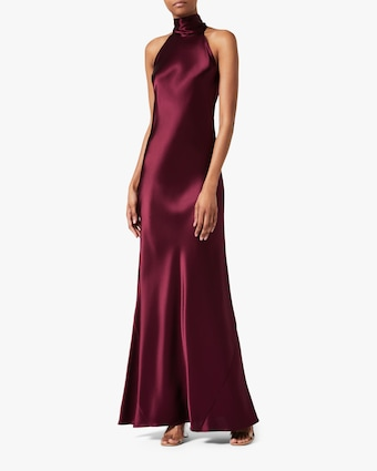 Galvan Satin Sienna Dress 1