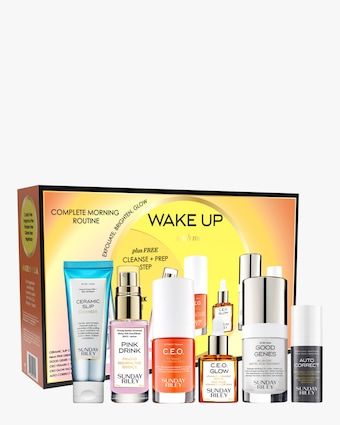 Sunday Riley Wake Up With Me Complete Brightening Morning Routine 1