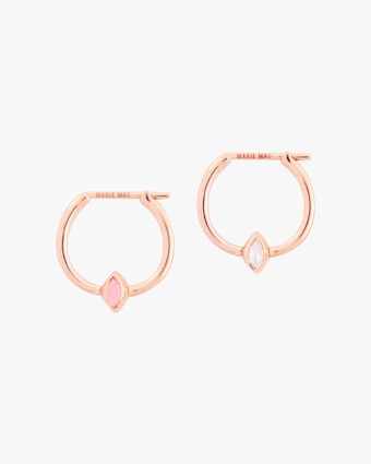 Marie Mas Swinging Mini Hoop Earrings 1