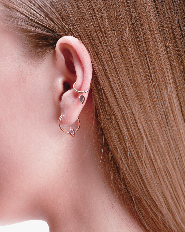 Marie Mas Swinging Mini Hoop Earrings 1