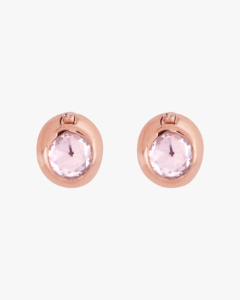 Marie Mas Swinging Round Stud Earrings 2