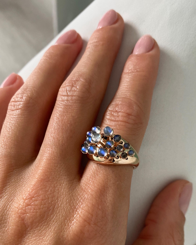 Marie Mas Moonlight Queen Wave Ring 2