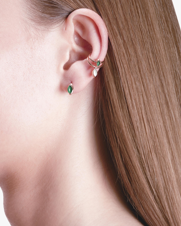 Marie Mas Swinging Marquise Stud Earrings 2
