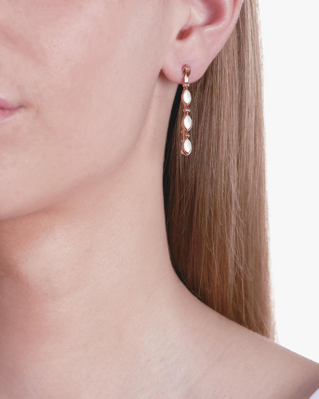 Marie Mas Swinging Line Drop Earrings 2
