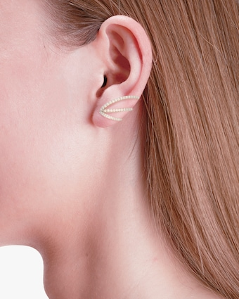Marie Mas Single Ocean Ripple Ear Jewel 2