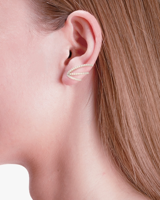 Marie Mas Single Ocean Ripple Earring 1