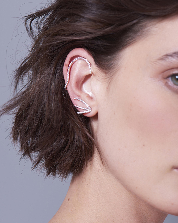 Marie Mas Single Ocean Ripple Earring 2