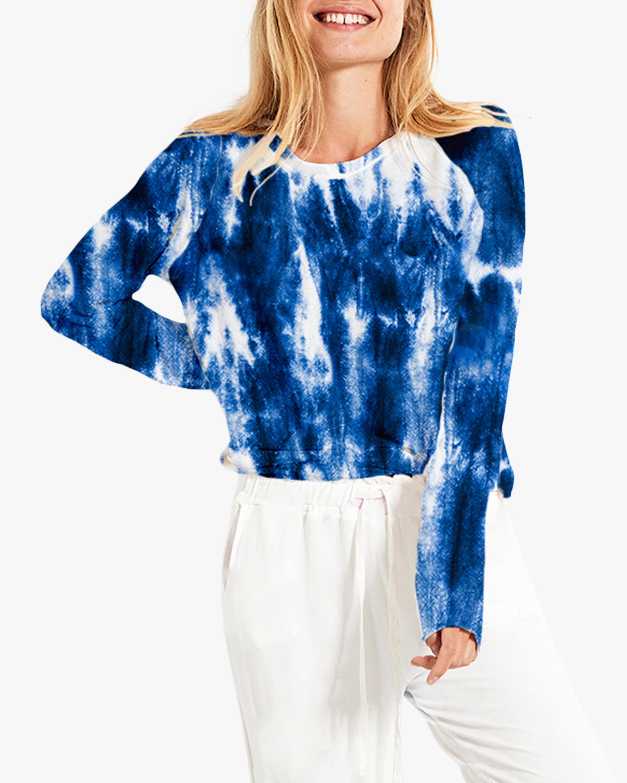 Stripe & Stare Carnival Tie Dye Sweatshirt 0