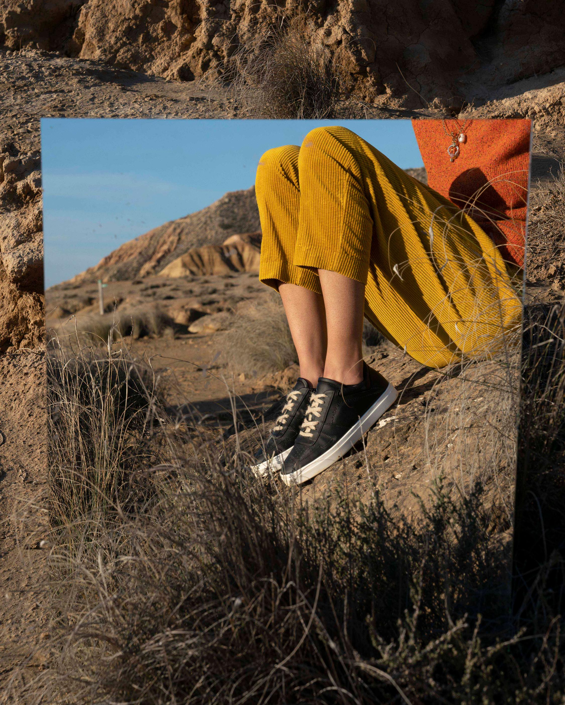 Yatay Slate Black Neven Low Sneaker 1