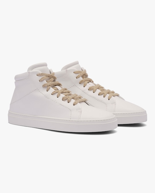 Yatay Birch White Neven High-Top Sneaker 0