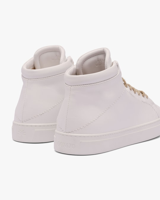 Yatay Birch White Neven High-Top Sneaker 1