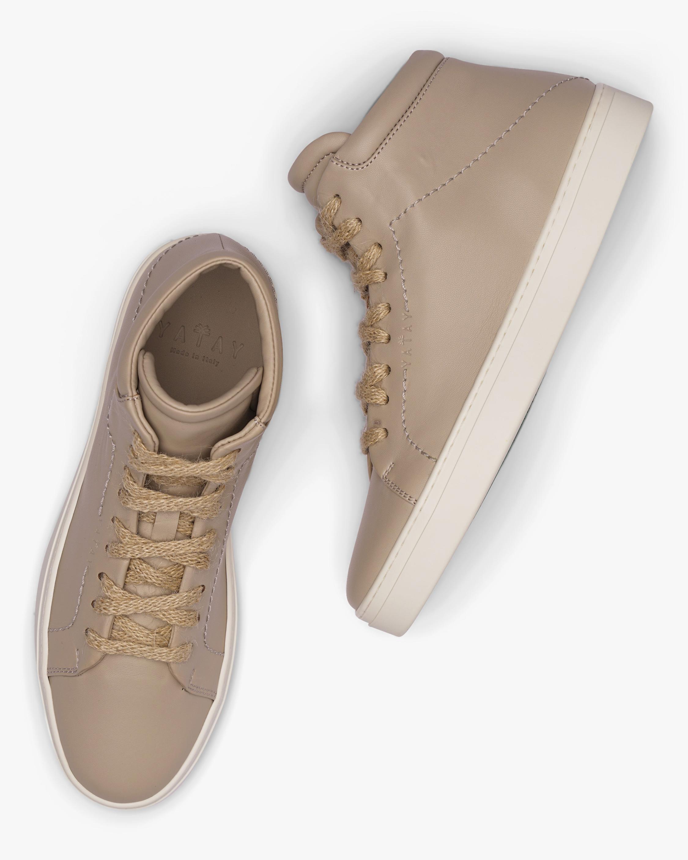 Yatay Hemp Brown Neven High-Top Sneaker 0