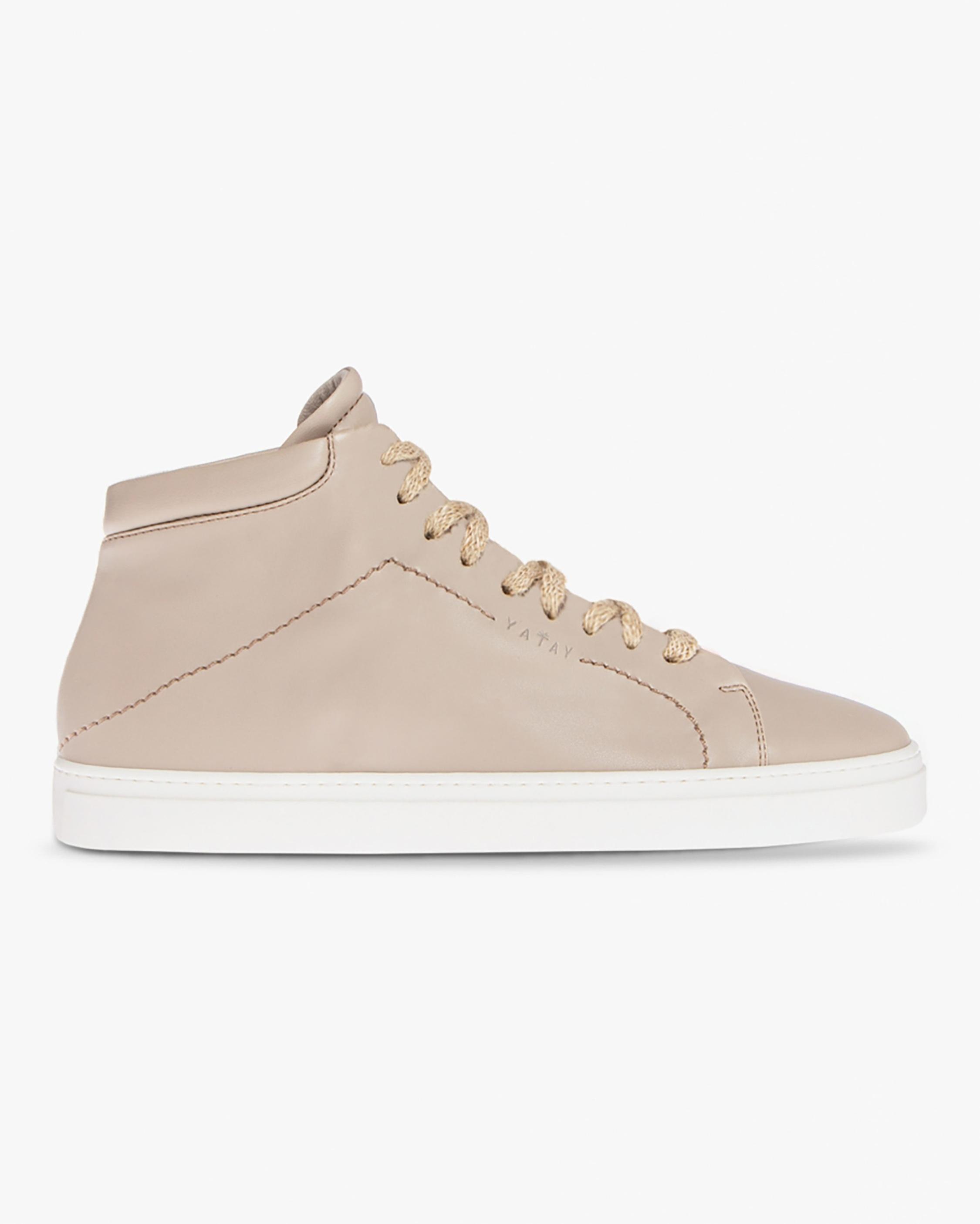 Yatay Hemp Brown Neven High-Top Sneaker 1