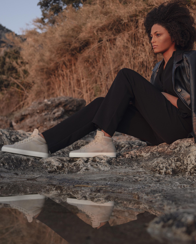 Yatay Hemp Brown Neven High-Top Sneaker 4