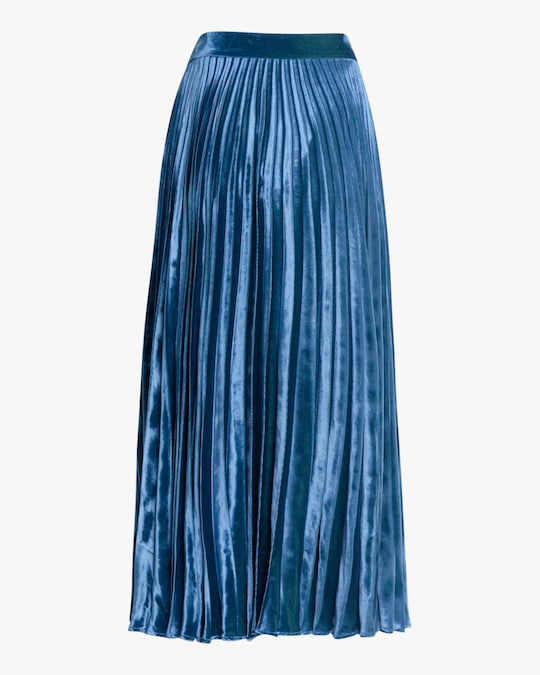 Christopher Kane Crystal-Embellished Pleated Skirt 1
