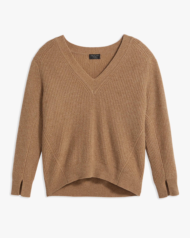 rag & bone Pierce V-Neck Cashmere Sweater 1