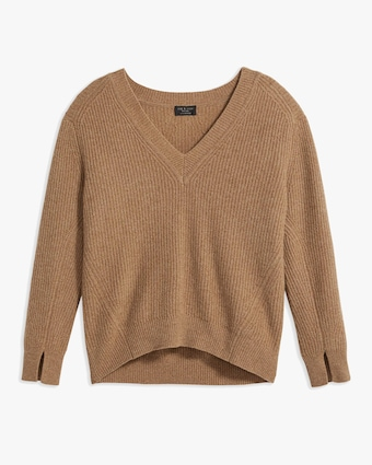 rag & bone Pierce V-Neck Cashmere Sweater 1
