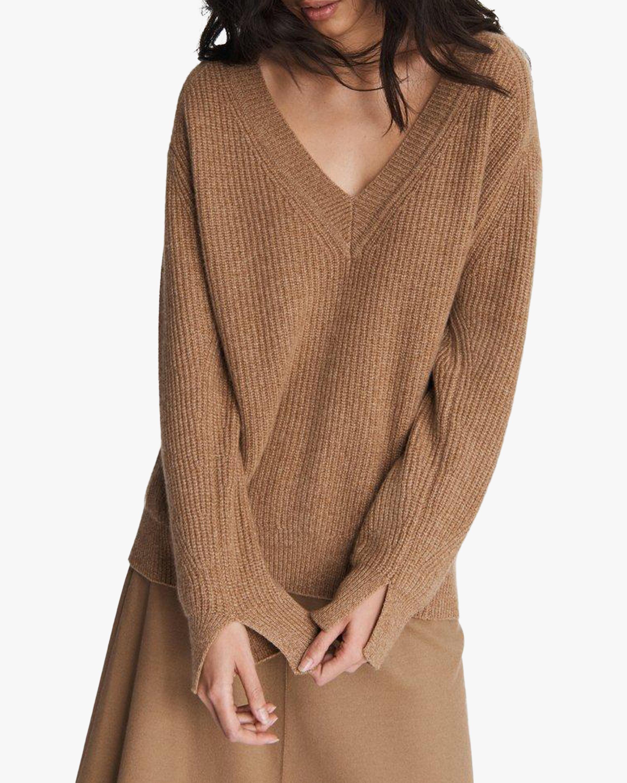 rag & bone Pierce Cashmere V Neck Sweater 2