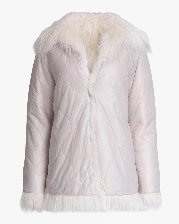 rag & bone Adelyn Reversible Faux Fur Coat 1