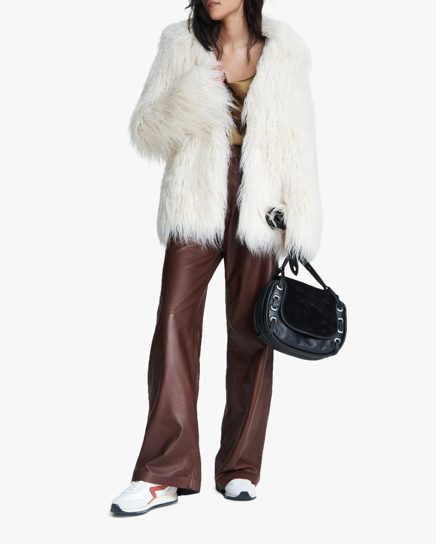 rag & bone Adelyn Reversible Faux Fur Coat 2