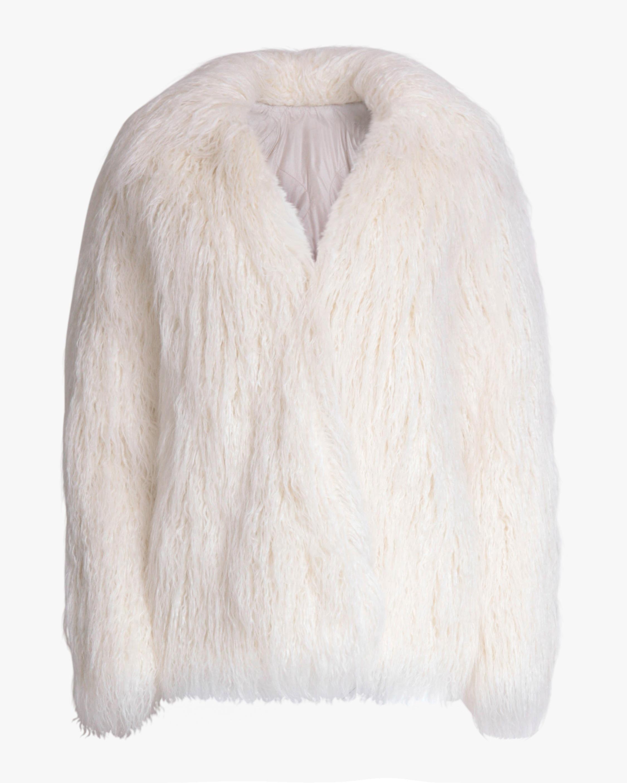 rag & bone Adelyn Reversible Faux Fur Coat 0